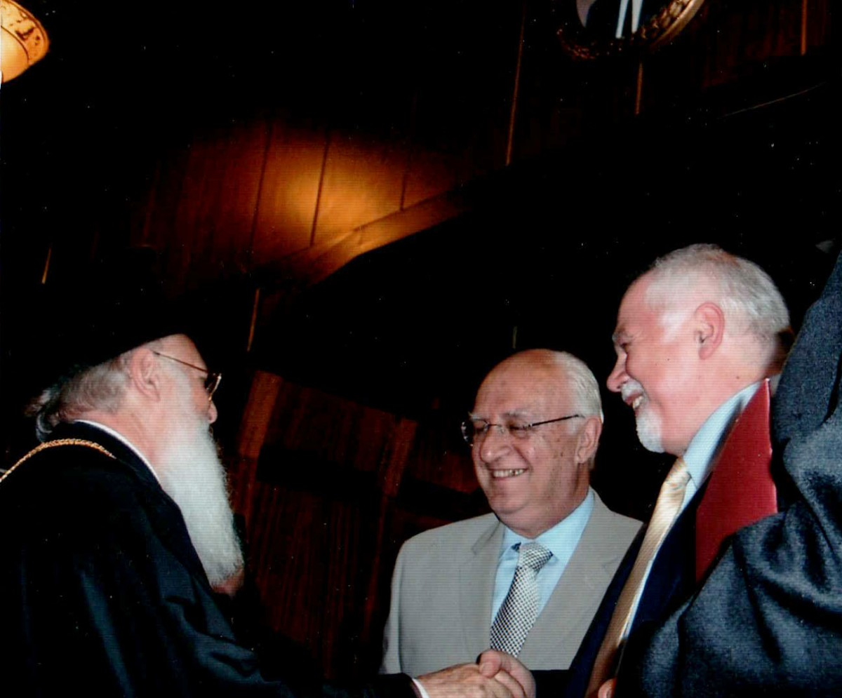 Ecumenical Patriarch Bartholomew Paul Kotrotsios Elias Malevitis