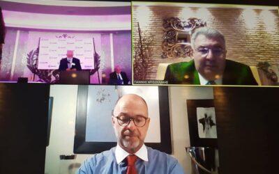 Στο ετήσιο συνέδριο του Ελληνοαμερικανικού Εθνικού Συμβουλίου (ΗΑΝC) επισφραγίστηκε η συσπείρωση της Ομογένειας απέναντι στα κρίσιμα Εθνικά προβλήματα.  Ο Πρόεδρος του ΗΑΝC κ. Β. Ματαράγκας προανήγγειλε σειρά πρωτοβουλιών της Ομογένειας